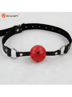 MORDAZA CON PELOTA RED BALL GAG